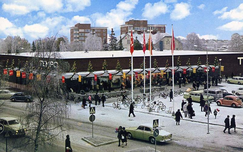 Christmas Shopping – A Long Time Ago in Sweden