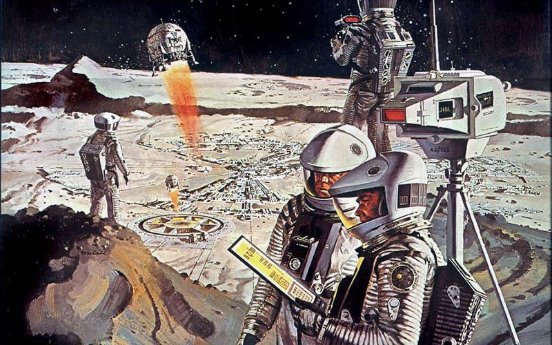 We Go to the Moon! – The Art of Robert McCall