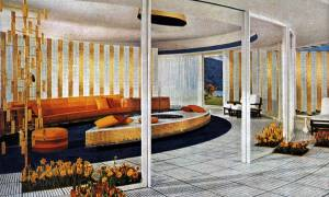 Postcards of Googie Architecture in California