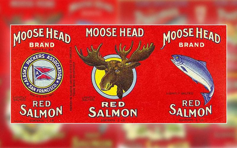 Alaskan-Style Midcentury Packaging Art