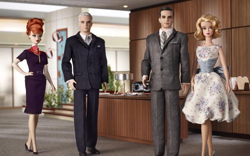 Barbie Loves Mad Men