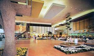 Stylish Mid-Century Shopping Malls