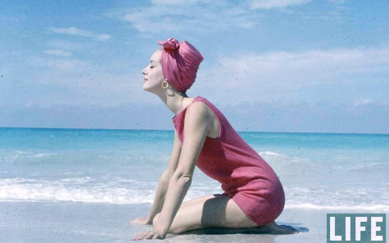 Beach Fashion in the 1950s