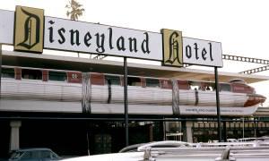 The Disneyland Hotel in Yesteryear Anaheim