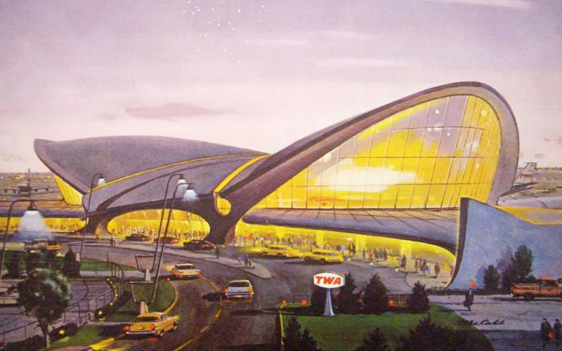 Eero Saarinens JFK Terminal – Home of Trans World Airlines