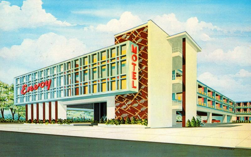Stylish Mid-Century Hotels & Motels