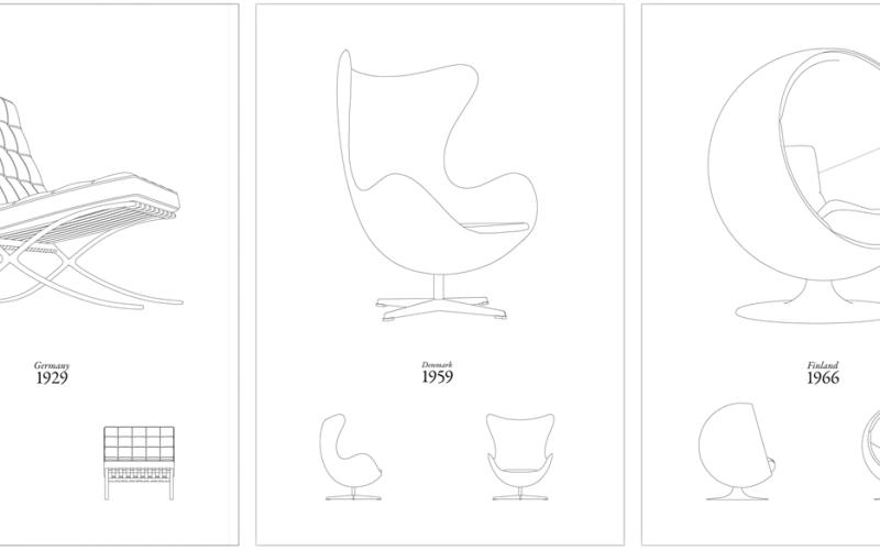 Classic Designer Chair Prints for Your Walls