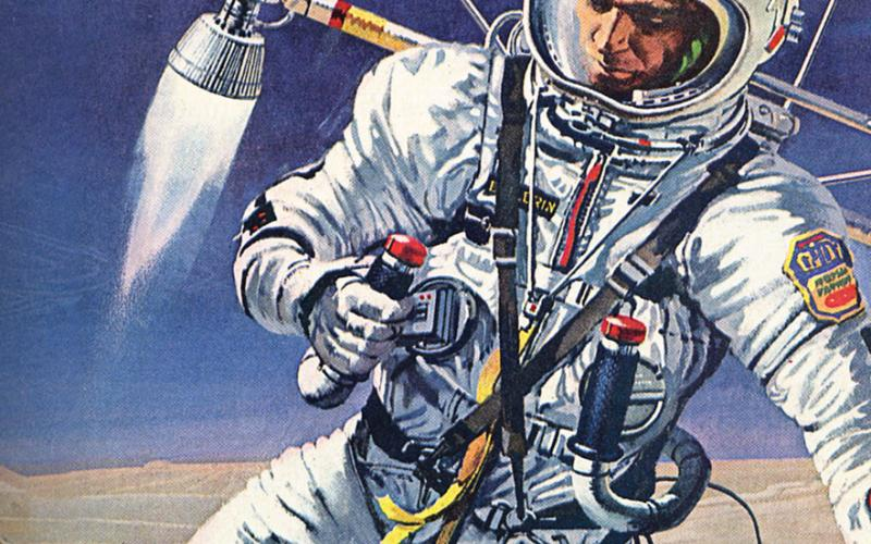 1964 Vision of Man Exploring Mars