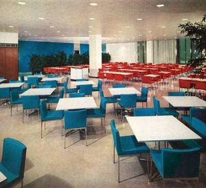 Elegant Mid-Century Office Design