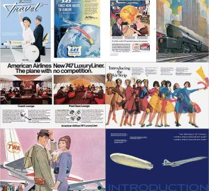 100 Years of Globetrotting ads from Taschen