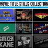 90 Years of Movie Titles