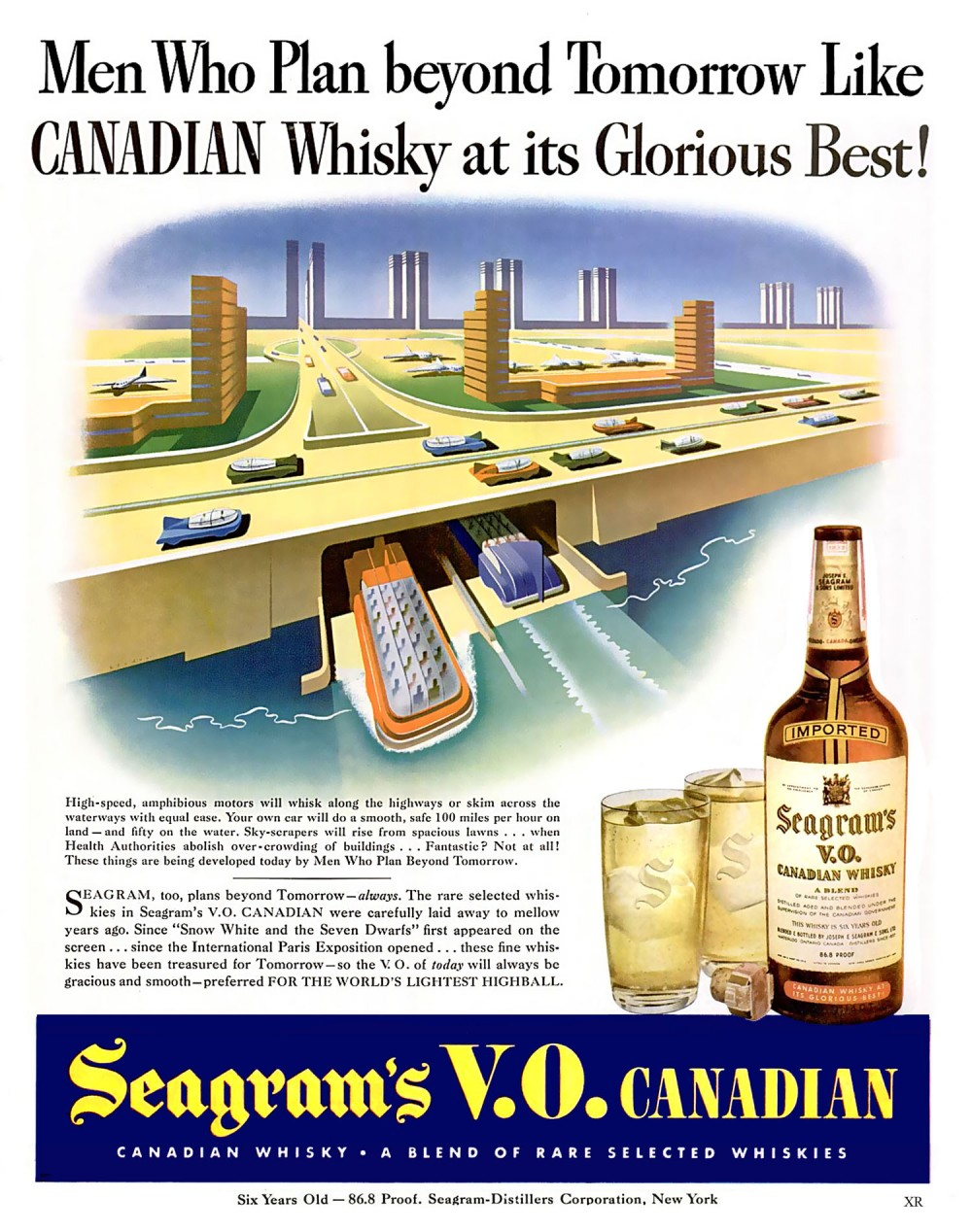 1943 - MWPBT Like Canadian Whiskey at its Glorious Best