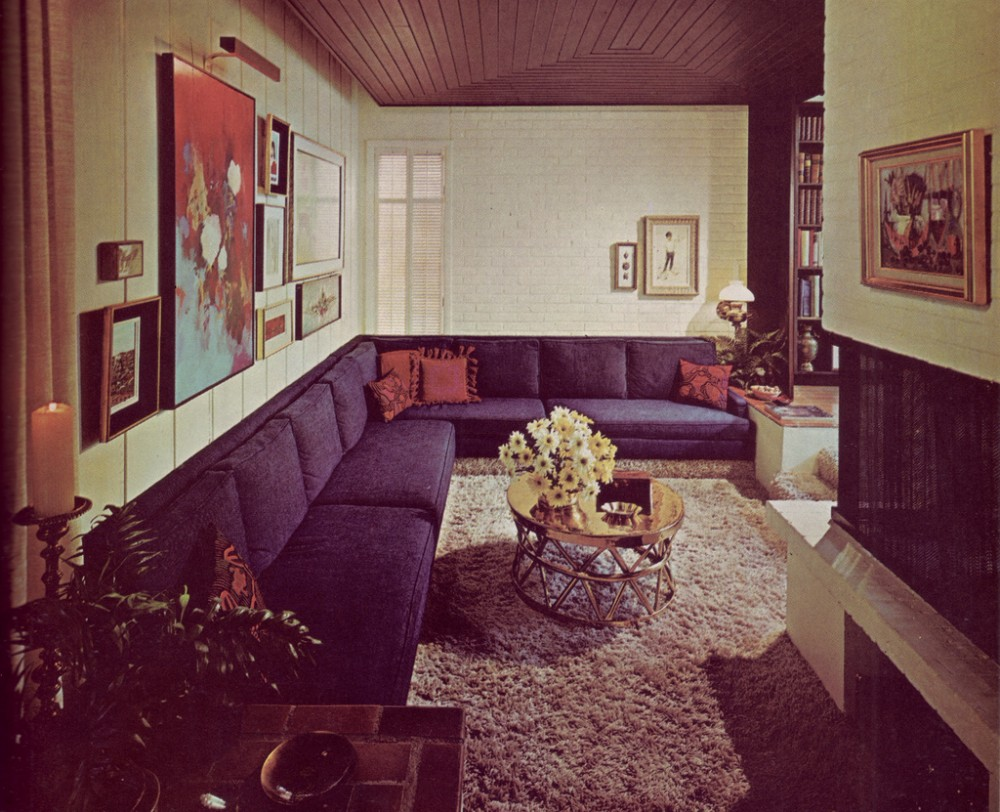 Interior five common 1970s decor elements ultra swank for Interior design 70s style