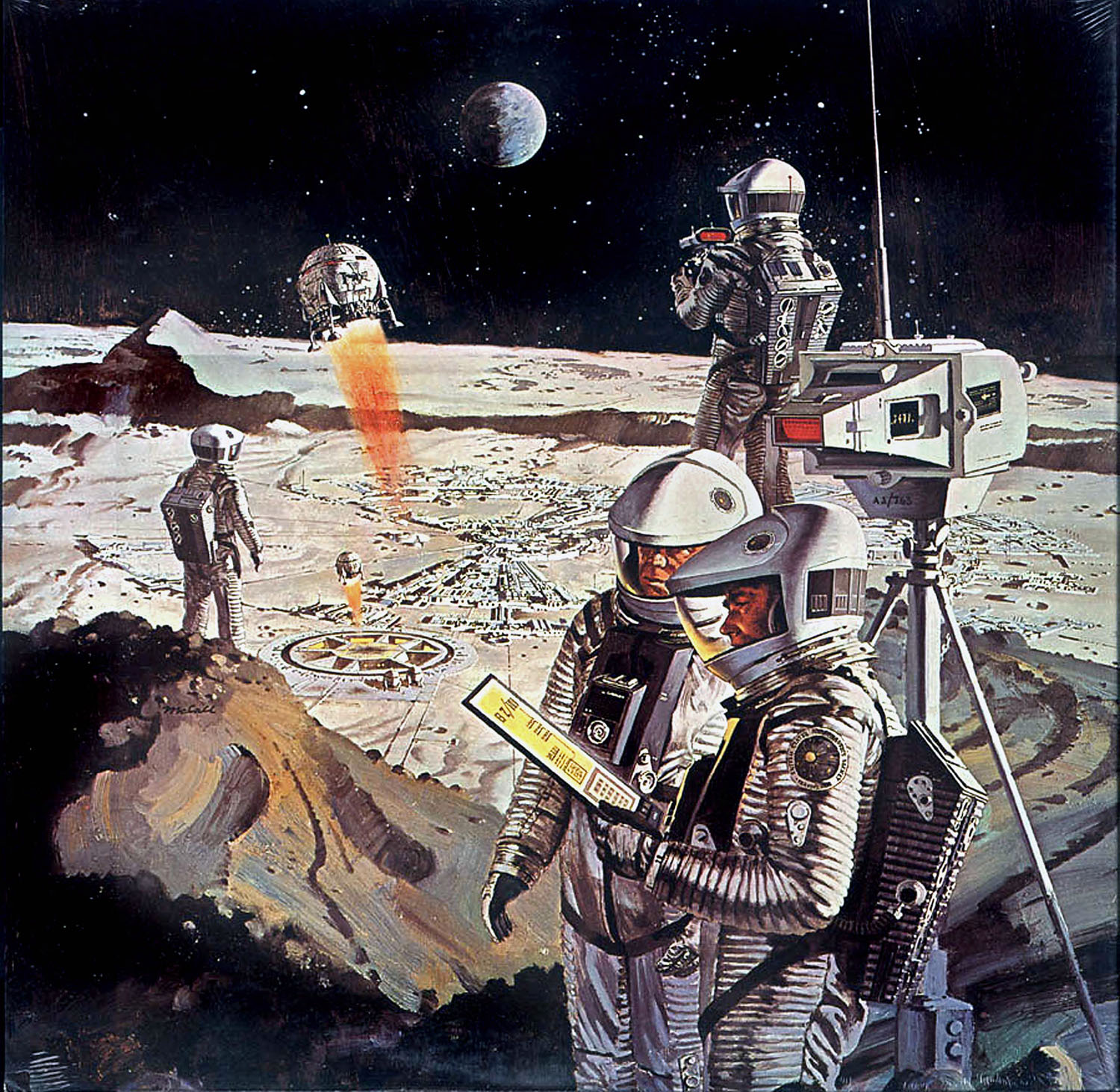 Design: We Go to the Moon! – The Art of Robert McCall | Ultra Swank