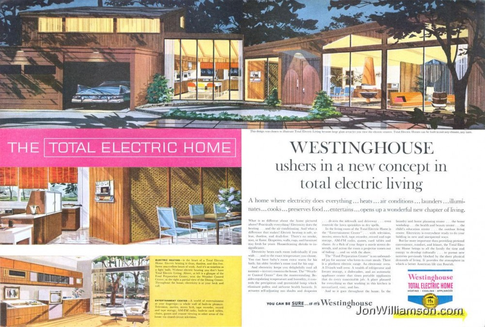 Westinghouse Total Electric Home - 1959
