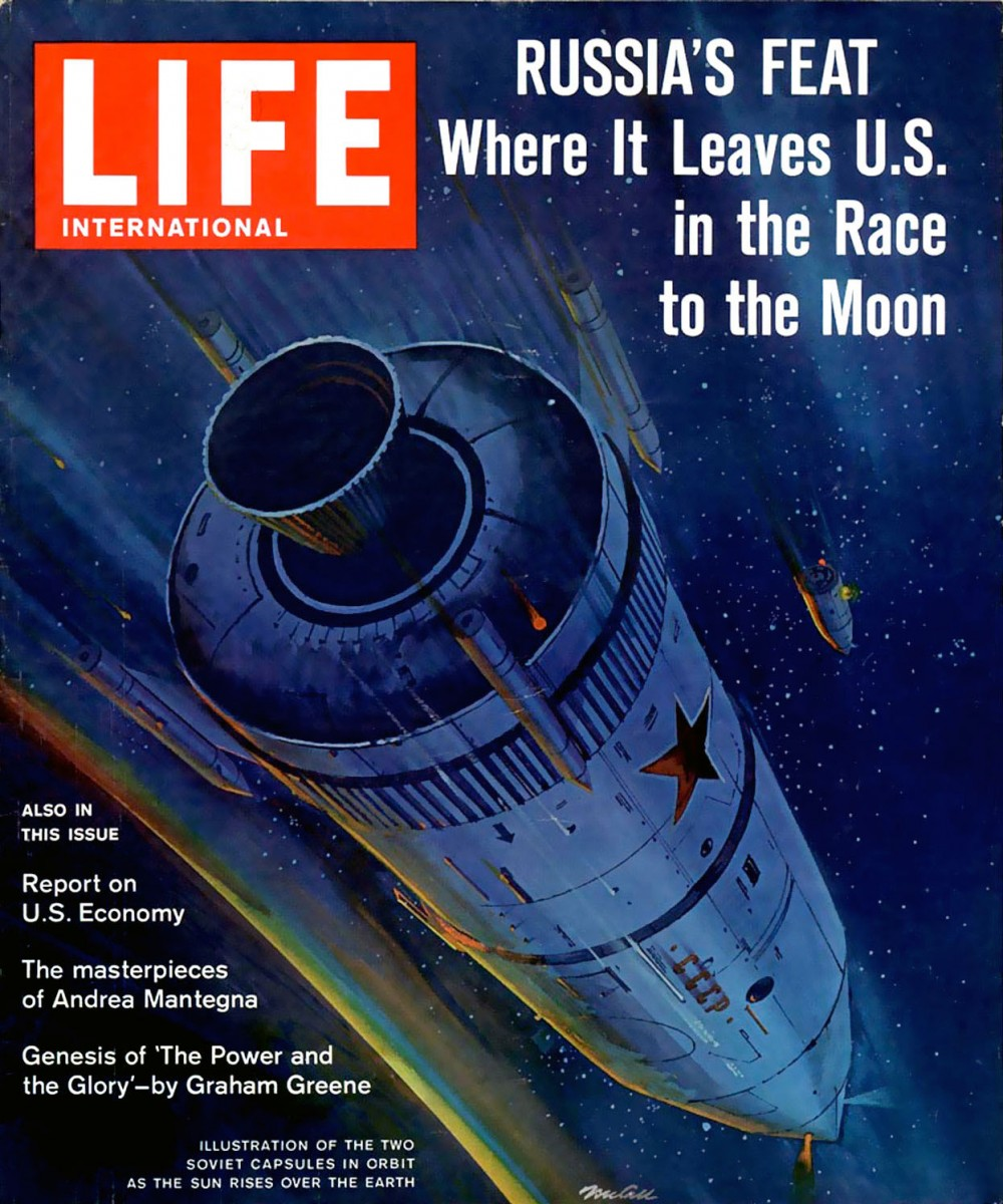 Design We Go To The Moon The Art Of Robert Mccall