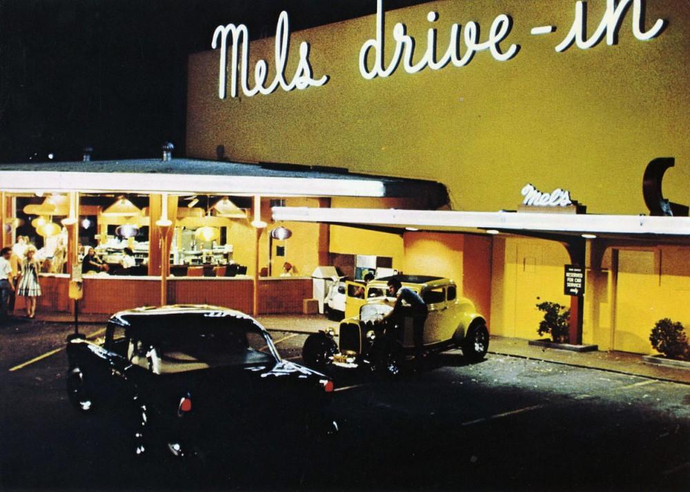 American Graffiti and Mel's Drive-In Restaurant