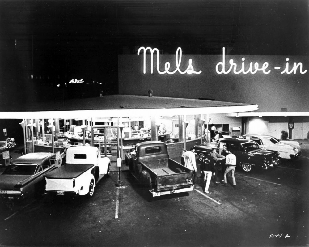 Mel's Drive-in is featured prominently in American Graffiti