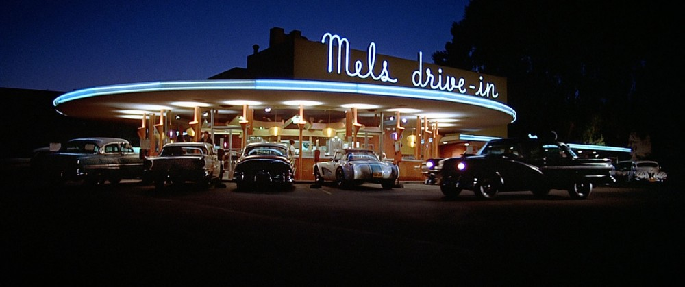 Mel's and other drive-in's were the center-points of the cruising culture in California in the 50s and 60s