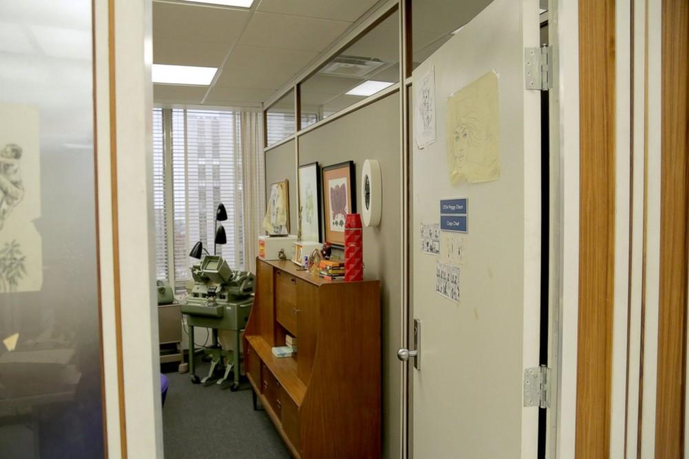 Peggy Olson's office, senior copywriter