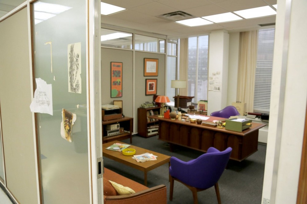 Another angle of Peggy Olson's office