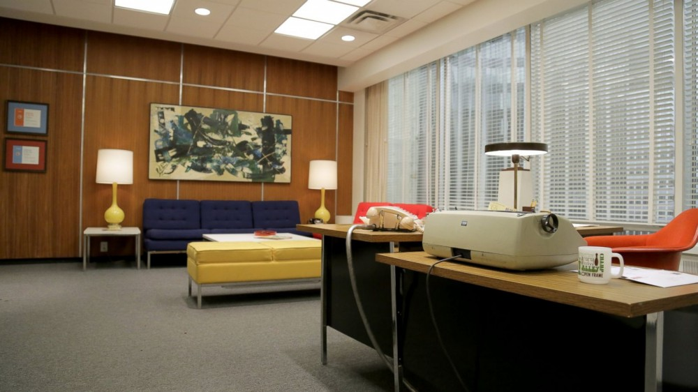 Mad Men Office Delectable Design A Tour Of The Sterling Cooper & Partners Office  Ultra Swank Decorating Inspiration