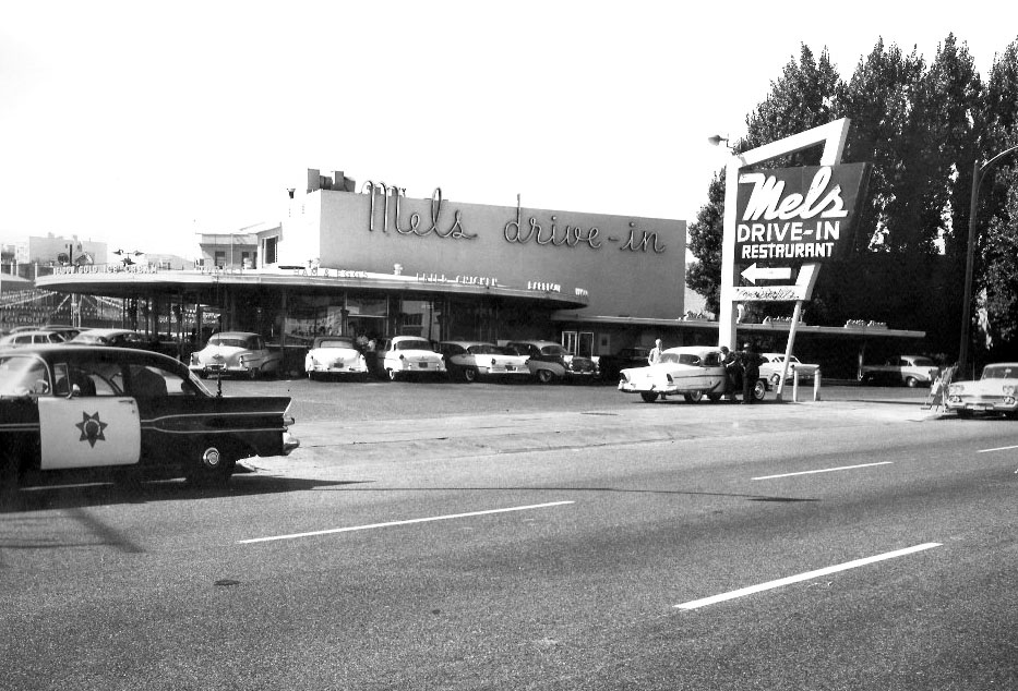 Film American Graffiti And Mel S Drive In Restaurant