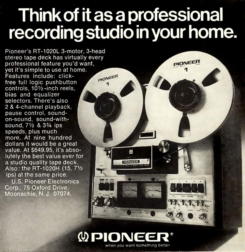 Pioneer - Professional Recording Studio