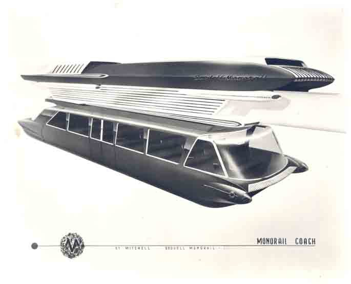 Proposed Goodell Monorail, 1963