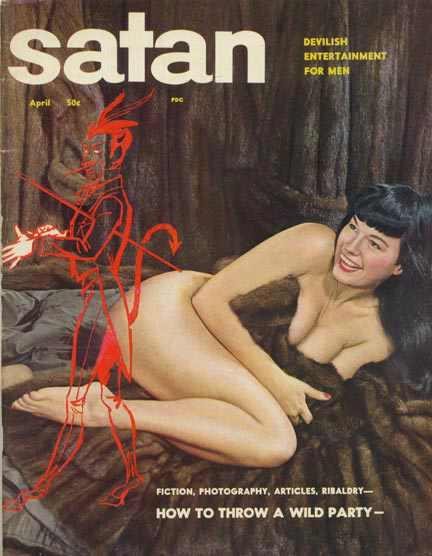 Satan Magazine April 1957