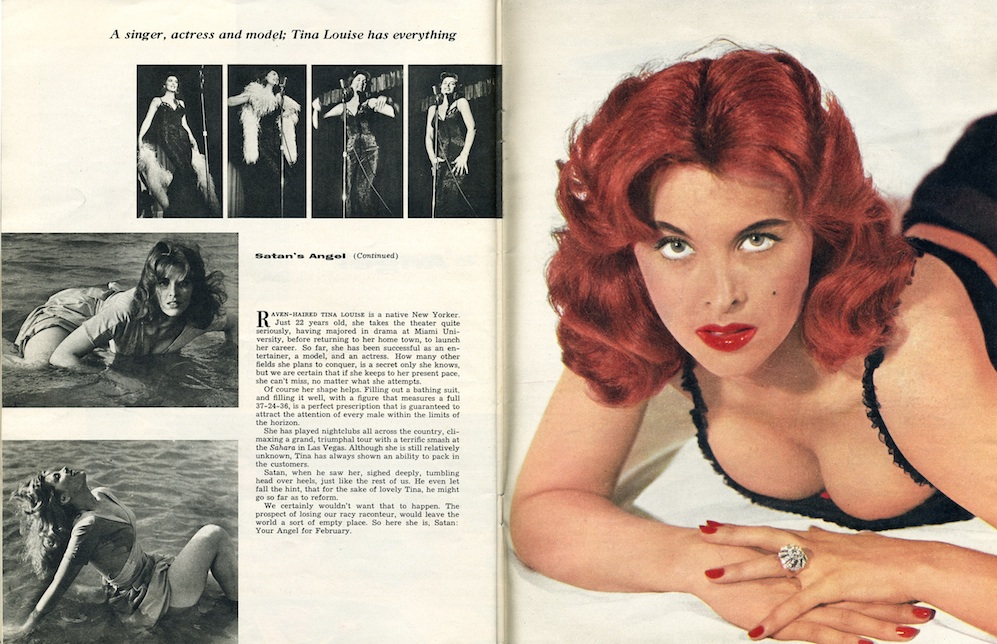 Satan Magazine February 1957 - Article