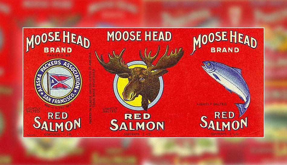 Alaskan-Style Midcentury Packaging Art