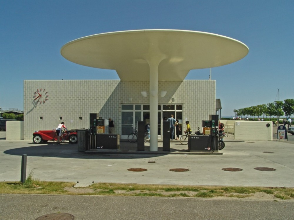 A Gas Station outside Copenhagen