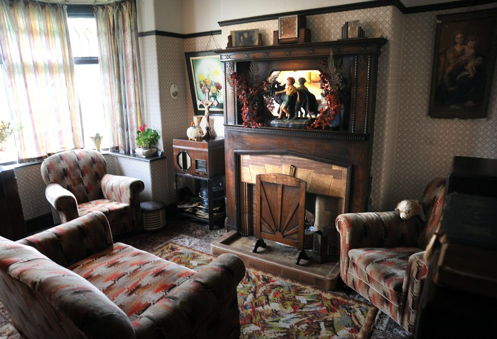 Interior a british 1930s time capsule in full swing for 1930s living room ideas