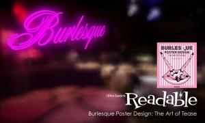 Burlesque Poster Design