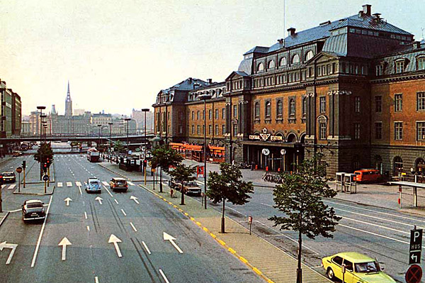 Stockholm, Main Train Station