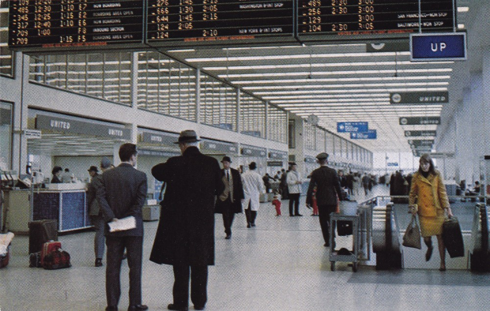 Chicago o'Hare in the 1970s