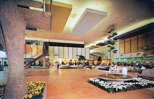 Stylish Mid-Century Shopping Malls