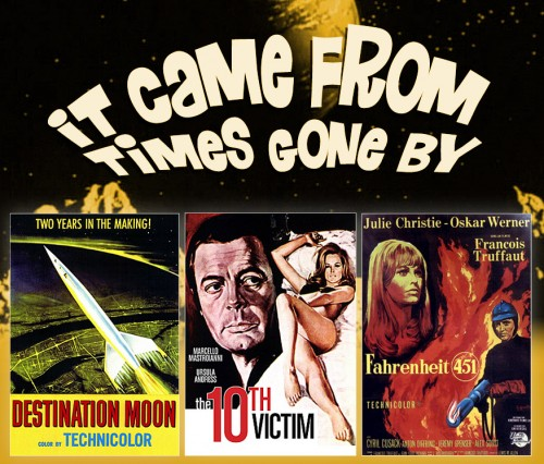 Three Classic Sci-Fi Movies from the Past