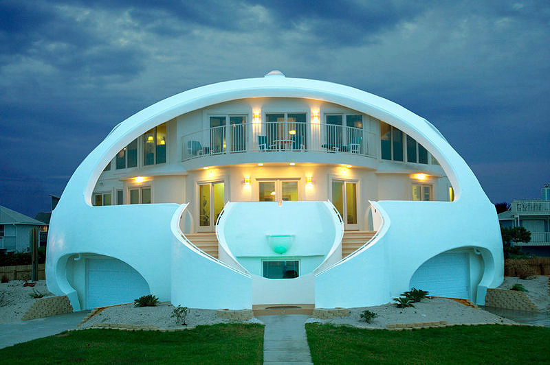 Architecture that time when bubble houses were the future for Building a house in florida