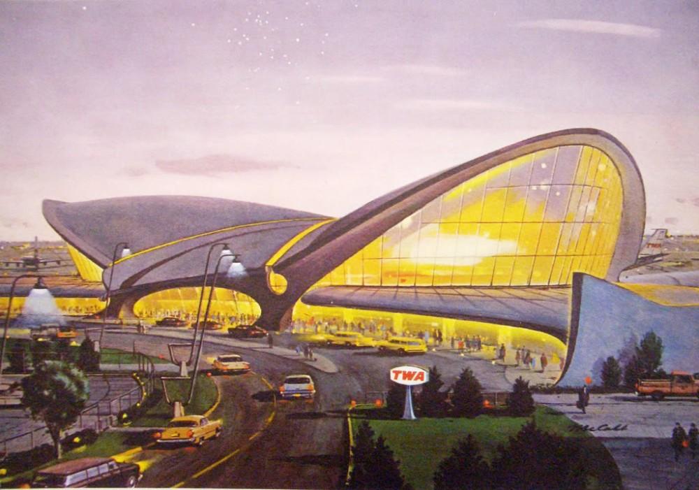 Eero Saarinens JFK Terminal – Home of Trans World Airlines