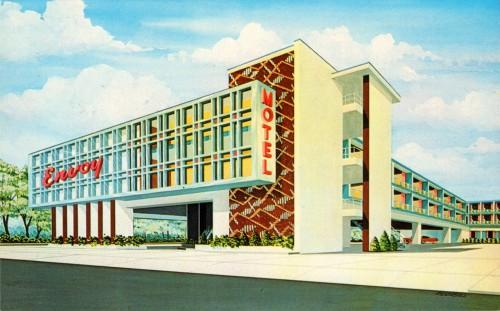 Stylish Mid-Century Hotels & Motels