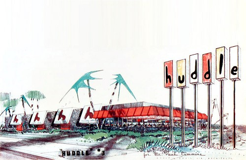 Huddle Restaurants – Googie Symbols of California