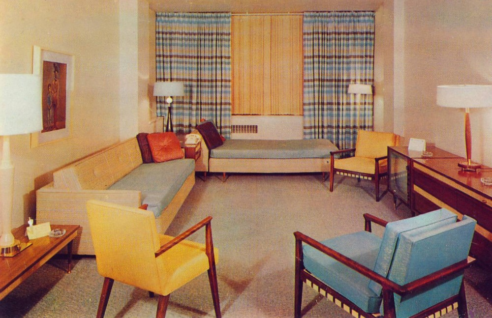 1950s house interior.  Interior Home Decor Of The 1960s Ultra Swank