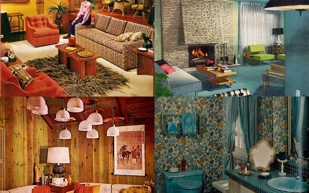 Interior home decor of the 1960s ultra swank for Home design 60s