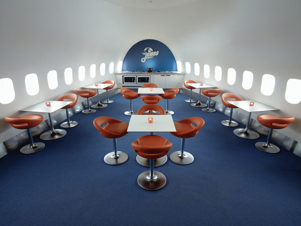 Welcome Aboard on the World's First Jumbo Jet Hostel
