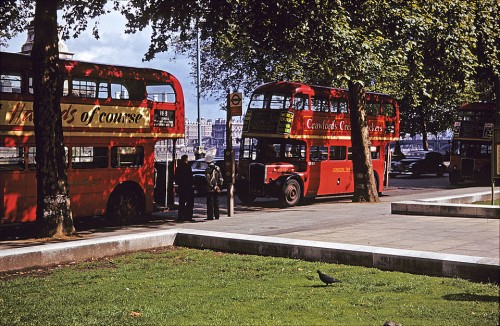 A visit to London in 1957