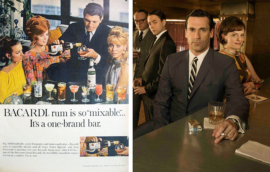 Mad Men's Bacardi fueled Fantasies