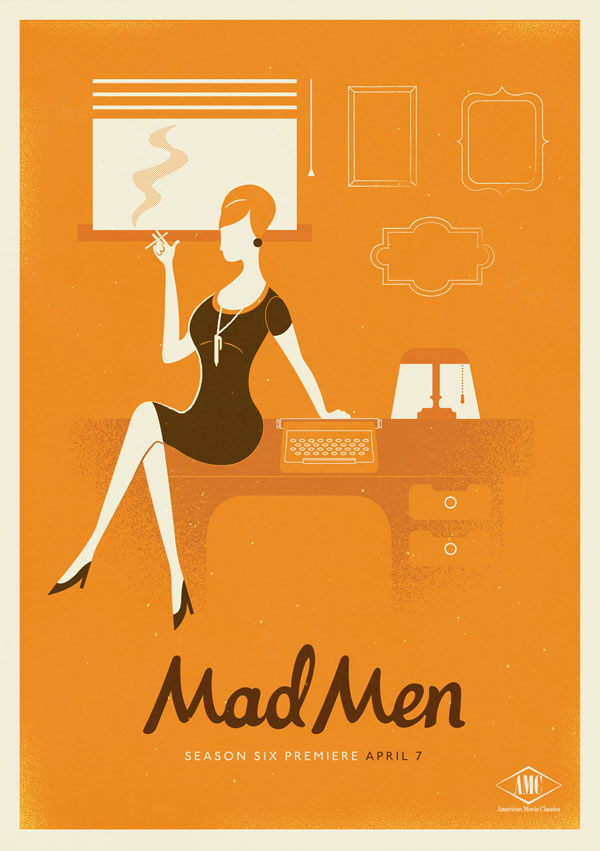 Design: 1960s Inspired Mad Men Posters | Ultra Swank