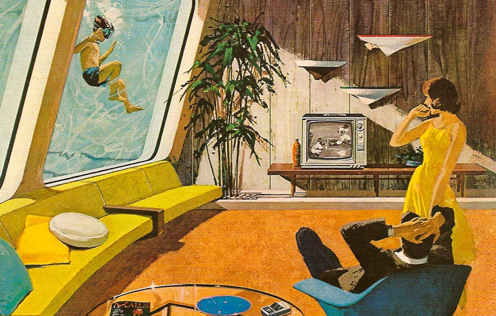 Advertising retro future from motorola ultra swank for Architecture 60s